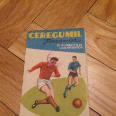 Coleccionismo deportivo: CALENDARIO DE LA LIGA 1959 1960 DINAMICO SIN USAR. Lote 45000772