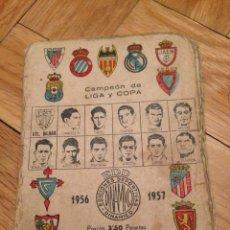 Coleccionismo deportivo: CALENDARIO DE LIGA 1956 1957 DINAMICO SIN USAR. Lote 45001253