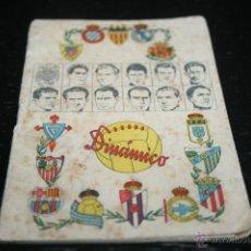 Coleccionismo deportivo: CALENDARIO DINÁMICO TEMPORADA 50-51 ORIGINAL. Lote 45389724
