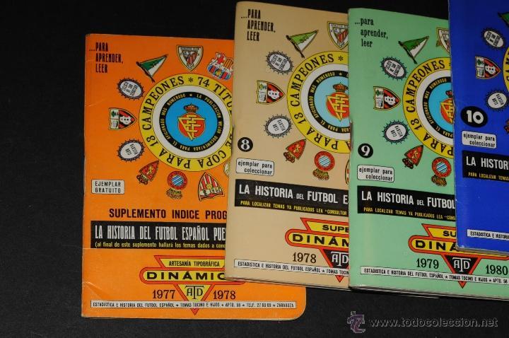 Coleccionismo deportivo: SUPER DINAMICO 1982-1983, 1980-1981, 1979-1980, 1978-1979 Y 1977-1978. - Foto 2 - 45594057