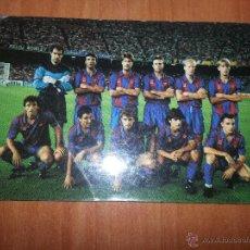 CALENDARIO FC BARCELONA 1992