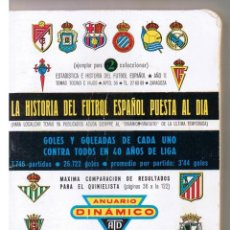 Coleccionismo deportivo: ANUARIO DINAMICO. 1972 - 1973. (C/A1). Lote 46004822