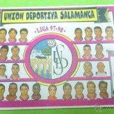 Coleccionismo deportivo: CALENDARIO DE BOLSILLO U.D.SALAMANCA 1998. PLANTILLA TEMPORADA 1997-1998 / 97-98. Lote 46656054