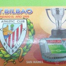 Coleccionismo deportivo: CALENDARIO DE BOLSILLO ATHLETIC CLUB DE BILBAO 2004. Lote 46663830