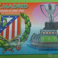 Coleccionismo deportivo: CALENDARIO DE BOLSILLO ATLETICO DE MADRID 2004. Lote 46663838