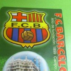 Coleccionismo deportivo: CALENDARIO DE BOLSILLO F.C.BARCELONA 2004. Lote 46663855