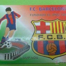 Coleccionismo deportivo: CALENDARIO DE BOLSILLO F.C.BARCELONA 2004. Lote 46663869