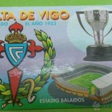 Coleccionismo deportivo: CALENDARIO DE BOLSILLO CELTA DE VIGO 2004. Lote 46663899