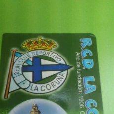 Coleccionismo deportivo: CALENDARIO DE BOLSILLO DEPORTIVO DE LA CORUÑA 2004. Lote 46663918