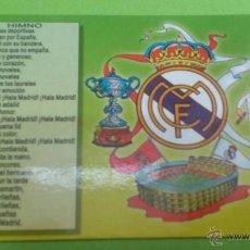 Coleccionismo deportivo: CALENDARIO DE BOLSILLO REAL MADRID 2004. Lote 46663934