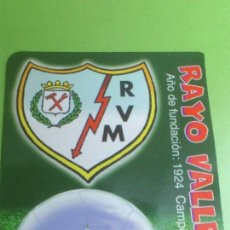 Coleccionismo deportivo: CALENDARIO DE BOLSILLO RAYO VALLECANO 2004. Lote 46663956