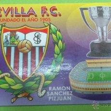 Coleccionismo deportivo: CALENDARIO DE BOLSILLO SEVILLA C.F.. Lote 46663986