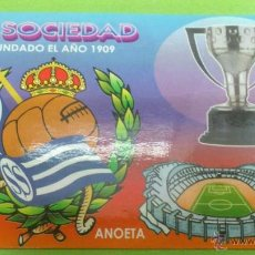 Coleccionismo deportivo: CALENDARIO DE BOLSILLO REAL SOCIEDAD 2004. Lote 46663994