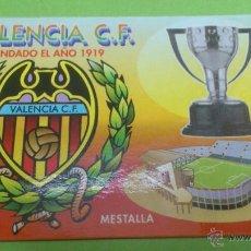 Coleccionismo deportivo: CALENDARIO DE BOLSILLO VALENCIA C.F. 2004. Lote 46664003