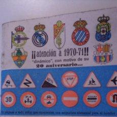 Coleccionismo deportivo: ANUARIO FUTBOL 1969 - 1970 DINAMICO. Lote 46785784