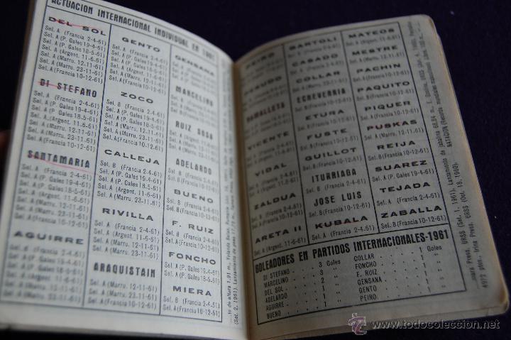 Coleccionismo deportivo: CALENDARIO CAMPEONATO FUTBOL. LIGA 1962-1963.ESPAÑA-MARRUECOS (MADRID 1961). PUBLICIDAD BEN-HUR - Foto 3 - 47303739