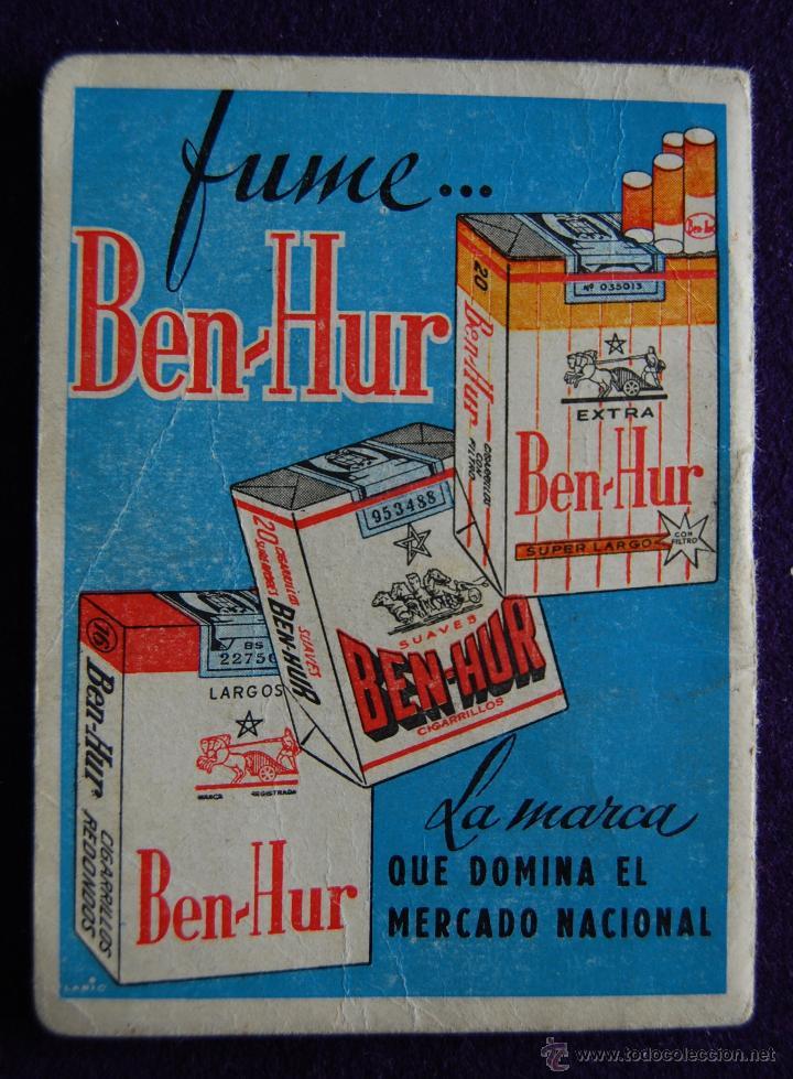 Coleccionismo deportivo: CALENDARIO CAMPEONATO FUTBOL. LIGA 1962-1963.ESPAÑA-MARRUECOS (MADRID 1961). PUBLICIDAD BEN-HUR - Foto 4 - 47303739