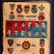 Calendario de Fútbol Dinámico. Temporada 1965-1966