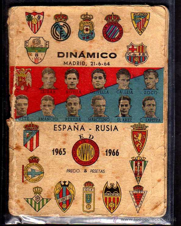 CALENDARIO DE FÚTBOL DINÁMICO. TEMPORADA 1962-1963 (Coleccionismo Deportivo - Documentos de Deportes - Calendarios)