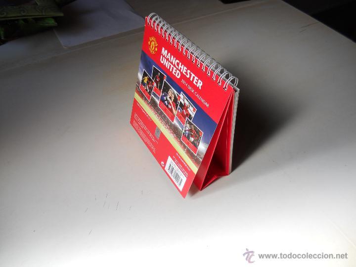 Coleccionismo deportivo: CALENDARIO OFICIAL DE MESA 2014. MANCHESTER UNITED CAMPEON. 2014 DESK CALENDAR - Foto 6 - 48928973