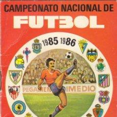 CALENDARIO DE LIGA 1985/86.