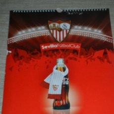 Coleccionismo deportivo: COCA COLA CALENDARIO 2015 SEVILLA FUTBOL CLUB. Lote 49257756