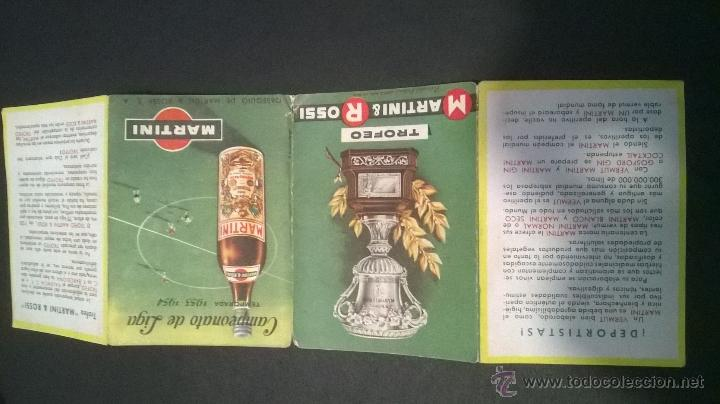 Coleccionismo deportivo: Campeonato de Liga temporada 1953-1954 (Martini) - Foto 4 - 49384913