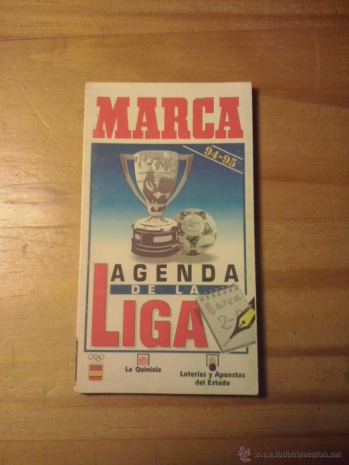 buena calidad colección de descuento calidad autentica CALENDARIO DE FUTBOL DESPLEGABLE DIARIO MARCA 1994 - 1995