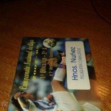 Coleccionismo deportivo: CALENDARIO CAMPEONATO NACIONAL DE LIGA 2004/05. Lote 49469993