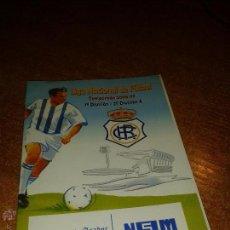 Coleccionismo deportivo: CALENDARIO CAMPEONATO NACIONAL DE LIGA 2008/09. Lote 49470018