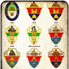 Coleccionismo deportivo: CALENDARIO DE BOLSILLO ESCUDOS ELCHE 2015. Lote 141559581