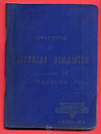 Coleccionismo deportivo: CALENDARIO LIGA FUTBOL , DINAMICO , TEMPORADA 1962 1963 , ORIGINAL , G14 - Foto 2 - 49981091