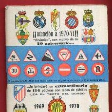 Coleccionismo deportivo: CALENDARIO LIGA FUTBOL , DINAMICO , TEMPORADA 1969 1970 , ORIGINAL , G23. Lote 49981604