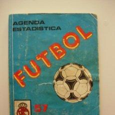 Coleccionismo deportivo: CALENDARIO AGENDA ESTADISTICA 57 CAMPEONATO NACIONAL DE LIGA FUTBOL AÑO 1987 1988 87 88 INTINA. Lote 50291474