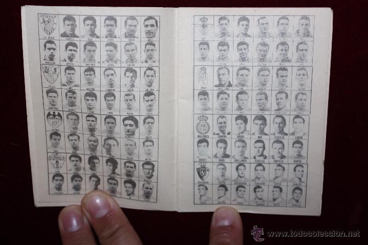Coleccionismo deportivo: CALENDARIO DE FUTBOL PRÁCTICO. TEMPORADA 1962-1963 - Foto 2 - 50435332