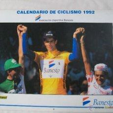 Coleccionismo deportivo: CALENDARIO DE CICLISMO BANESTO 1992. Lote 51064415
