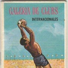 Coleccionismo deportivo: CALENDARIO DE LIGA.1968-69. GALERÍA DE CLUBS INTERNACIONALES. INTERESANTES FOTOS DE EQUIPOS. Lote 10677904