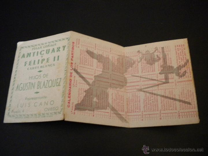 Coleccionismo deportivo: Calendario liga 1945-1946 - Foto 3 - 51689059