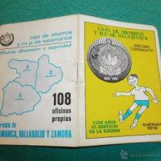 calendario deportivo año 1981 82