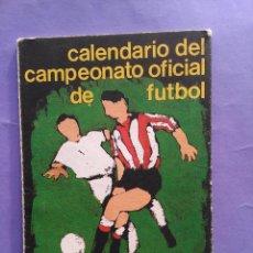 Coleccionismo deportivo: IBERDROLA CALENDARIO DEL CAMPEONATO OFICIAL DE FUTBOL 1985-1986. Lote 52013611