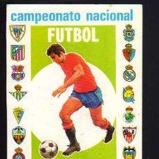 Coleccionismo deportivo: CALENDARIO DE BOLSILLO. FÚTBOL. 1981 - 1982. Lote 52014002