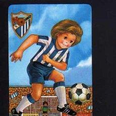 Coleccionismo deportivo: CALENDARIO DE BOLSILLO. FÚTBOL. MALAGA 1987. Lote 52014025