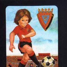 Coleccionismo deportivo: CALENDARIO DE BOLSILLO. FÚTBOL. OSASUNA 1988. Lote 52014031