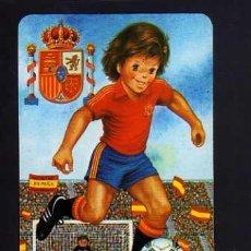 Coleccionismo deportivo: CALENDARIO DE BOLSILLO. FÚTBOL. ESPAÑA 1989. Lote 52014036
