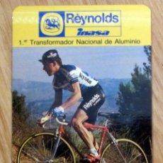 CALENDARIO PEDRO PERICO DELGADO CICLISMO REYNOLDS AÑO 1988