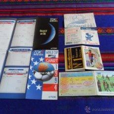 Coleccionismo deportivo: CALENDARIO TDK MUNDIAL USA 1994, FÚTBOL TOTAL MUNDIAL FRANCIA 1998 (2), EUROCOPA INGLATERRA 1996 (2). Lote 53136709