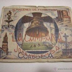 Coleccionismo deportivo: CAMPEONATO DE LIGA 1946-47 (MUY RARO) CALENDARIO CON FOTOGRAFIAS A COLOR DE LOS EQUIPOS DE SEGUNDA.. Lote 53581295