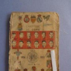 Coleccionismo deportivo: VALENCIA - CAMPEON DE COPA - DINAMICO - AÑO 1954 - 1955. Lote 54124323