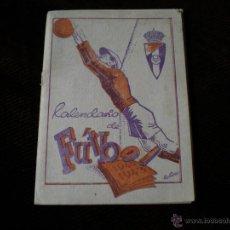 Coleccionismo deportivo: CALENDARIO DE FUTBOL TEMPORADA 42-43. Lote 54309661