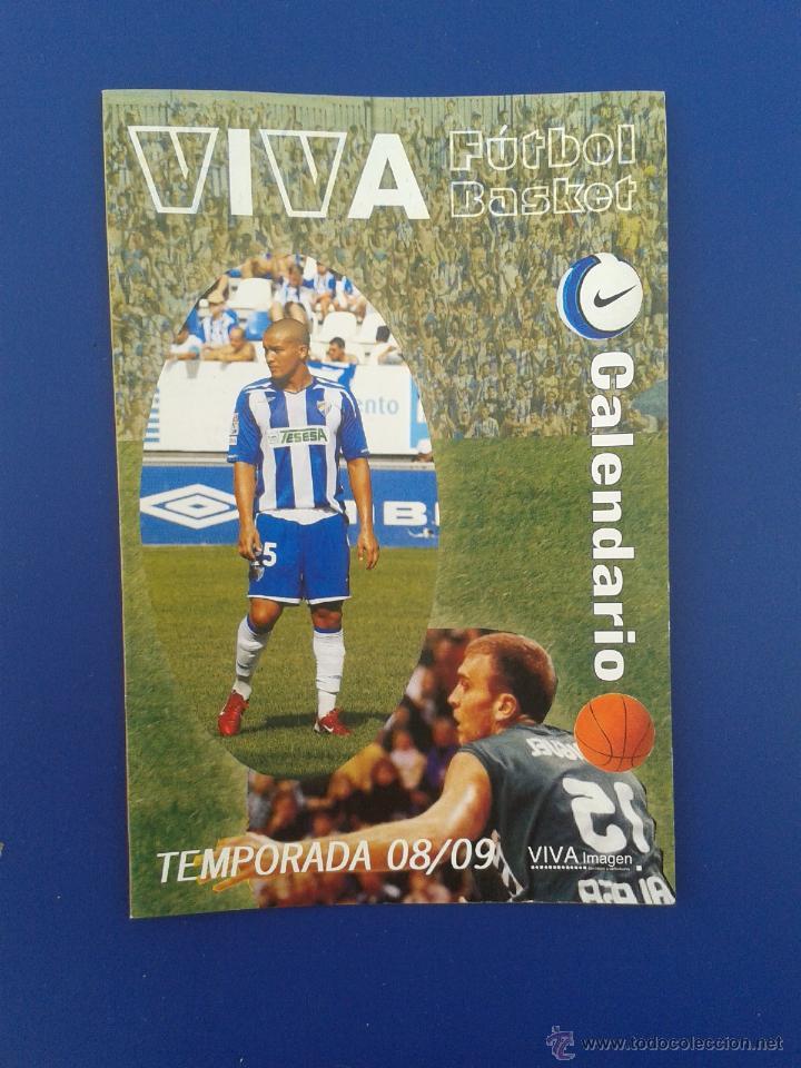 Calendario Unicaja.Calendario De Futbol Basket Viva Liga Y Acb Temporada 08 09 2008 2009 Malaga Y Unicaja